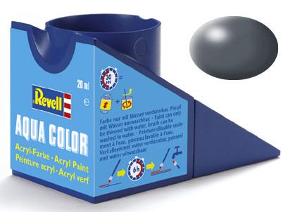 Tinta Acrílica Revell Aqua Color Cinza Escuro Seda - Revell 36378  - BLIMPS COMÉRCIO ELETRÔNICO