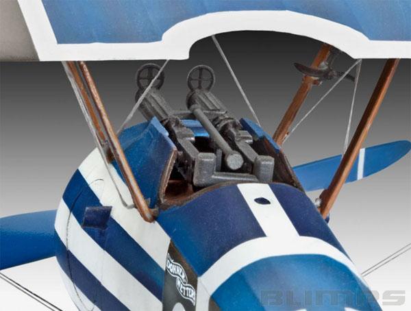 Sopwith F.1 Camel - 1/28 - Revell 04747  - BLIMPS COMÉRCIO ELETRÔNICO