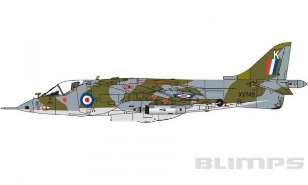 Hawker Siddeley Harrier GR.1 - 1/72 - Airfix A03003  - BLIMPS COMÉRCIO ELETRÔNICO