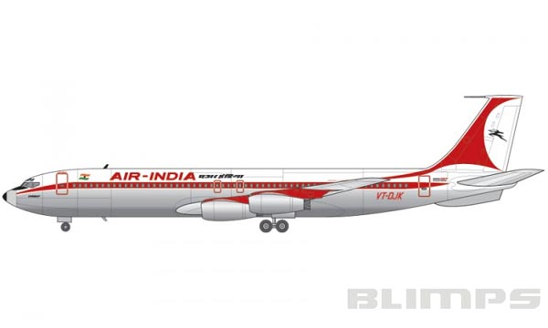 Boeing 707-436 - 1/144 - Airfix A05171  - BLIMPS COMÉRCIO ELETRÔNICO