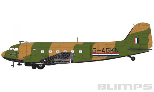 Douglas DC-3 Dakota Mk.IV - 1/72 - Airfix A08015  - BLIMPS COMÉRCIO ELETRÔNICO