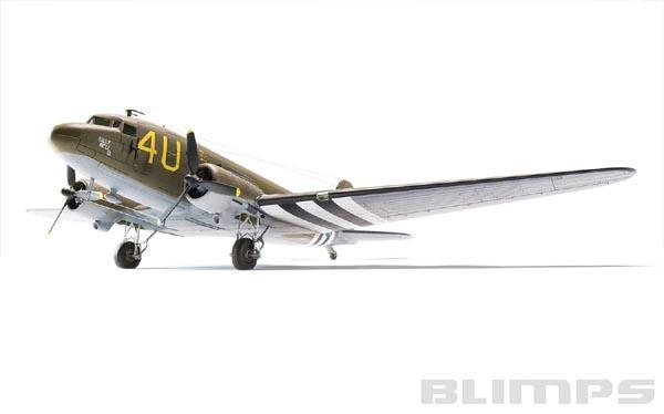 Douglas C-47 Skytrain - 1/72 - Airfix A08014  - BLIMPS COMÉRCIO ELETRÔNICO