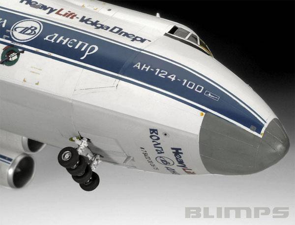 Antonov An-124 Ruslan - 1/144 - Revell 04221  - BLIMPS COMÉRCIO ELETRÔNICO