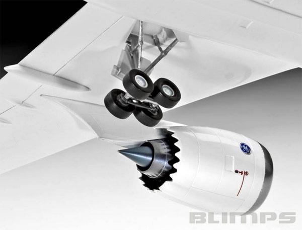Boeing 787-8 Dreamliner - 1/144 - Revell 04261  - BLIMPS COMÉRCIO ELETRÔNICO