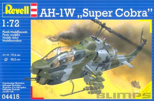 Bell AH-1W Cobra - 1/72 - Revell 04415  - BLIMPS COMÉRCIO ELETRÔNICO