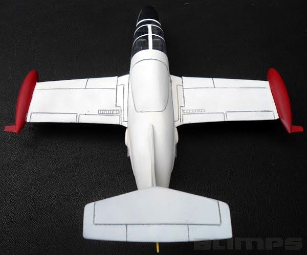 Morane-Saulnier MS.760 Paris - 1/48 - GIIC  - BLIMPS COMÉRCIO ELETRÔNICO