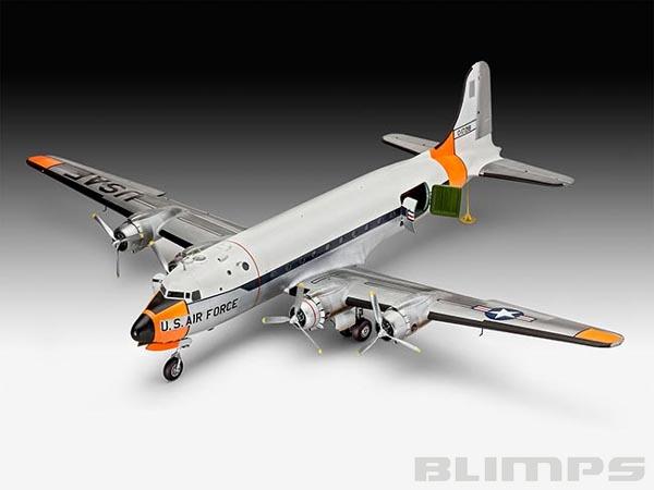 C-54D Skymaster - 1/72 - Revell 04877  - BLIMPS COMÉRCIO ELETRÔNICO