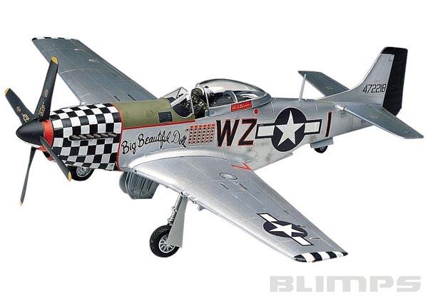 P-51D Mustang - 1/48 - Revell 85-5241  - BLIMPS COMÉRCIO ELETRÔNICO