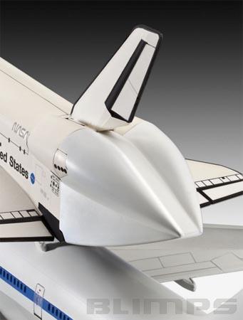 Boeing 747 SCA & Space Shuttle - 1/144 - Revell 04863  - BLIMPS COMÉRCIO ELETRÔNICO
