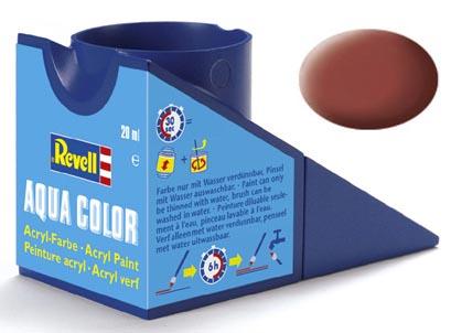 Tinta Acrílica Revell Aqua Color Marrom Avermelhado Fosco - Revell 36137  - BLIMPS COMÉRCIO ELETRÔNICO