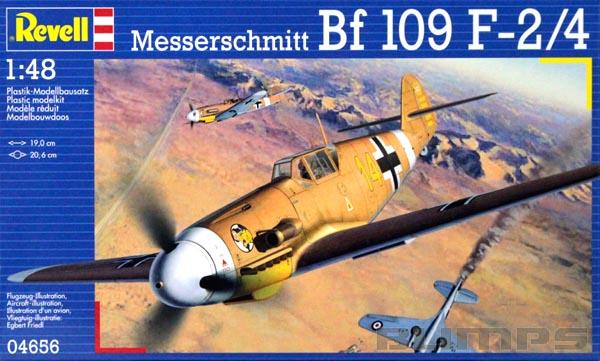 Messerschmitt Bf 109 F-2/4 - 1/48 - Revell 04656  - BLIMPS COMÉRCIO ELETRÔNICO