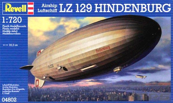LZ 129 Hindenburg - 1/720 - Revell 04802  - BLIMPS COMÉRCIO ELETRÔNICO