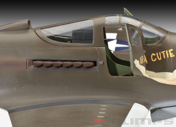 P-39D Airacobra - 1/32 - Revell 04868  - BLIMPS COMÉRCIO ELETRÔNICO