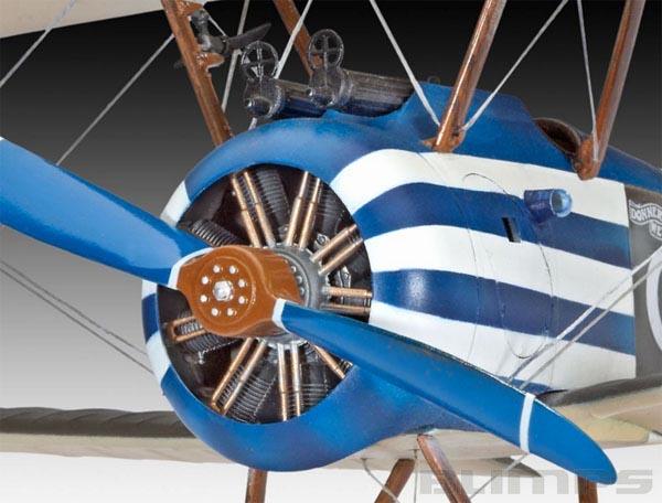 Model-Set Sopwith F.1 Camel - 1/28 - Revell 64747  - BLIMPS COMÉRCIO ELETRÔNICO