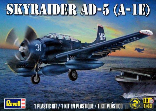 Skyraider AD-5 (A-1E) - 1/48 - Revell 85-5327  - BLIMPS COMÉRCIO ELETRÔNICO
