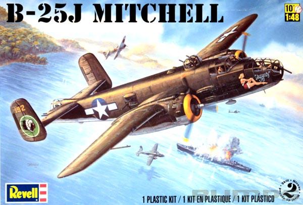 B-25J Mitchell - 1/48 - Revell 85-5512  - BLIMPS COMÉRCIO ELETRÔNICO
