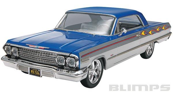 Chevy Impala SS 1963 - 1/25 - Revell 85-4278  - BLIMPS COMÉRCIO ELETRÔNICO