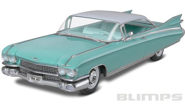 Cadillac Eldorado Hardtop 1959 - 1/25 - Revell 85-4361  - BLIMPS COMÉRCIO ELETRÔNICO