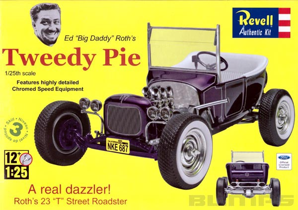 Ed Roth Tweedy Pie - 1/25 - Revell 85-4922  - BLIMPS COMÉRCIO ELETRÔNICO
