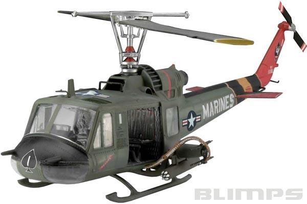 """Bell UH-1 """"Huey Hog"""" - 1/48 - Revell 04476  - BLIMPS COMÉRCIO ELETRÔNICO"""