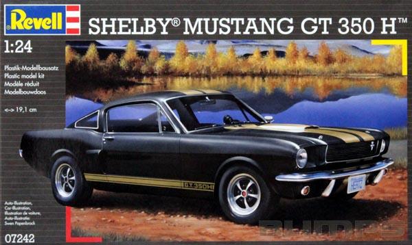 Shelby Mustang GT 350 H - 1/24 - Revell 07242  - BLIMPS COMÉRCIO ELETRÔNICO