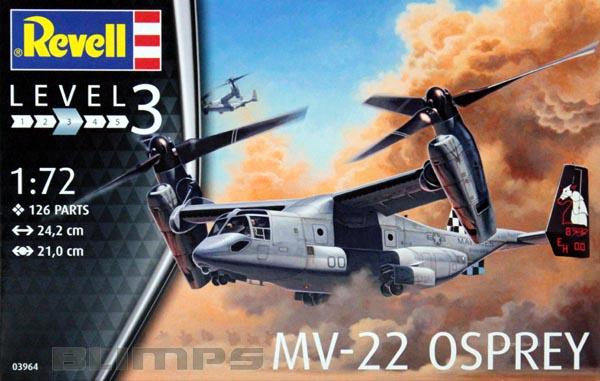 MV-22 Osprey - 1/72 - Revell 03964  - BLIMPS COMÉRCIO ELETRÔNICO