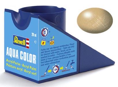 Tinta Acrílica Revell Aqua Color Ouro Metálico - Revell 36194  - BLIMPS COMÉRCIO ELETRÔNICO
