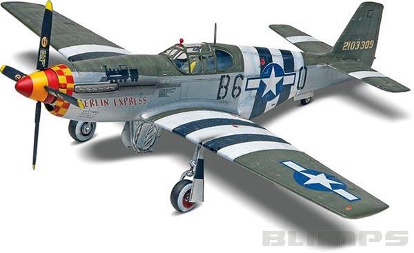 P-51B Mustang - 1/32 - Revell 85-5535  - BLIMPS COMÉRCIO ELETRÔNICO