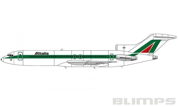 Boeing 727 - 1/144 - Airfix A04177A  - BLIMPS COMÉRCIO ELETRÔNICO