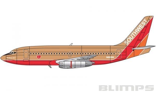 Boeing 737 - 1/144 - Airfix A04178A  - BLIMPS COMÉRCIO ELETRÔNICO