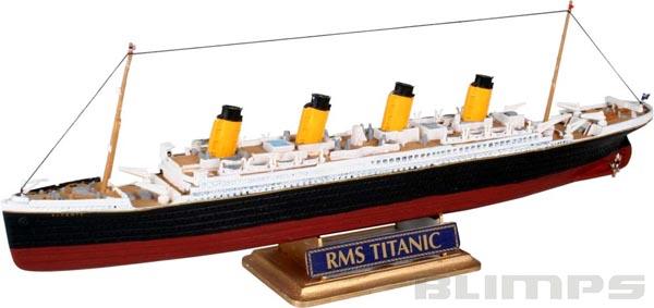 R.M.S. Titanic - 1/1200 - Revell 05804  - BLIMPS COMÉRCIO ELETRÔNICO