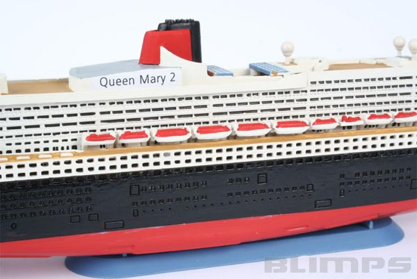Ocean Liner Queen Mary 2 - 1/1200 - Revell 05808  - BLIMPS COMÉRCIO ELETRÔNICO