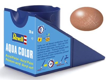 Tinta Acrílica Revell Aqua Color Cobre Metálico - Revell 36193  - BLIMPS COMÉRCIO ELETRÔNICO