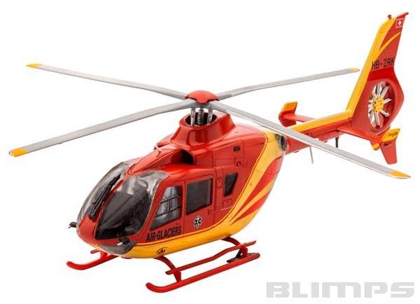 Airbus Helicopters EC135 Air-Glaciers - 1/72 - Revell 04986  - BLIMPS COMÉRCIO ELETRÔNICO