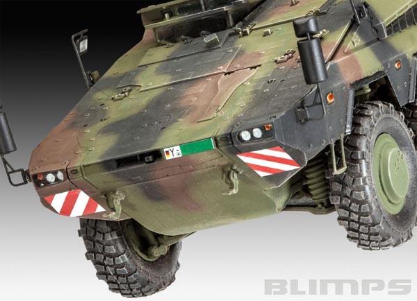 GTK Boxer sgSanKfz - 1/35 - Revell 03241  - BLIMPS COMÉRCIO ELETRÔNICO