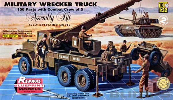 Guincho Militar (Military Wrecker Truck) - 1/32 - Revell 85-7816  - BLIMPS COMÉRCIO ELETRÔNICO