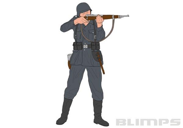Infantaria Alemã na Segunda Guerra Mundial - 1/32 - Revell 02630  - BLIMPS COMÉRCIO ELETRÔNICO