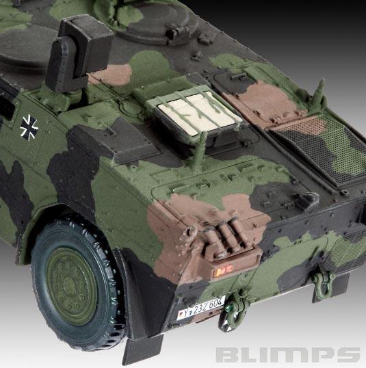 Carro Blindado de Reconhecimento Fennek - 1/72 - Revell 03136  - BLIMPS COMÉRCIO ELETRÔNICO