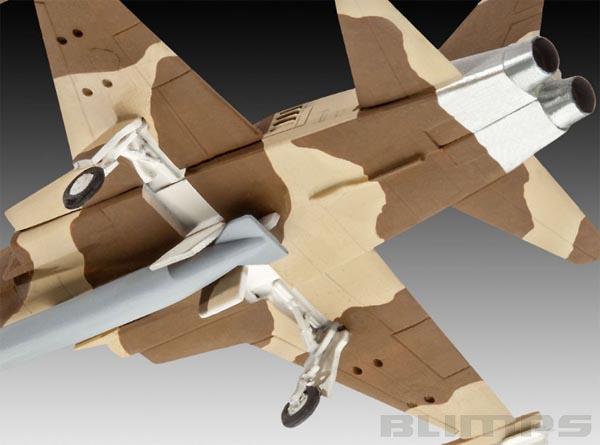 Northrop F-5E Tiger II - 1/144 - Revell 03947  - BLIMPS COMÉRCIO ELETRÔNICO