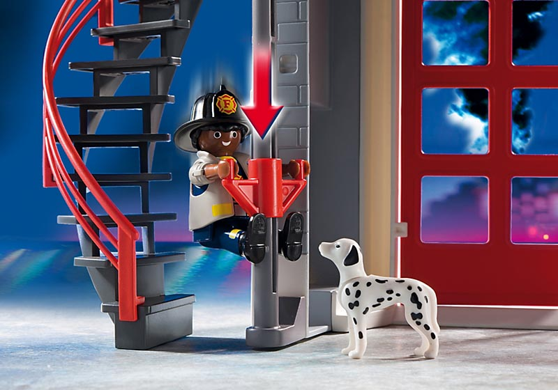 Playmobil City Action - Estação de Bombeiros - 5981  - BLIMPS COMÉRCIO ELETRÔNICO
