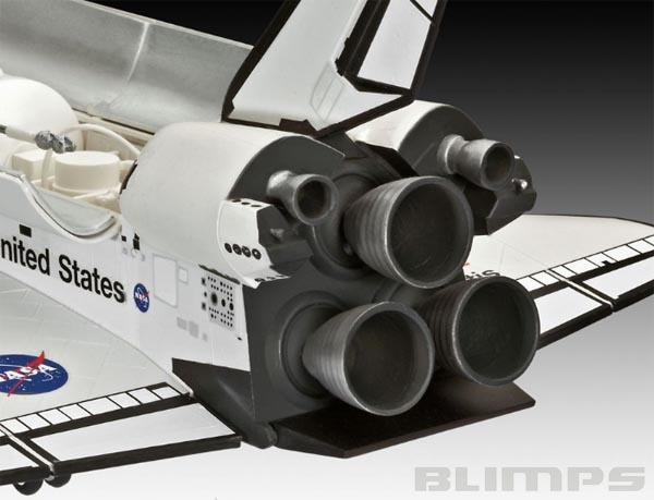 Space Shuttle Atlantis - 1/144 - Revell 04544  - BLIMPS COMÉRCIO ELETRÔNICO