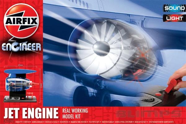 Jet Engine - Airfix A20005  - BLIMPS COMÉRCIO ELETRÔNICO