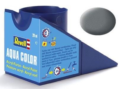 Tinta Acrílica Revell Aqua Color Cinza Rato Fosco - Revell 36147  - BLIMPS COMÉRCIO ELETRÔNICO
