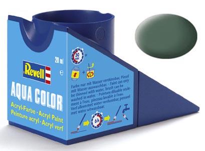 Tinta Acrílica Revell Aqua Color Cinza Esverdeado Fosco - Revell 36167  - BLIMPS COMÉRCIO ELETRÔNICO