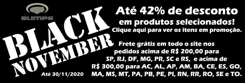 Aproveite a Black November BLIMPS!