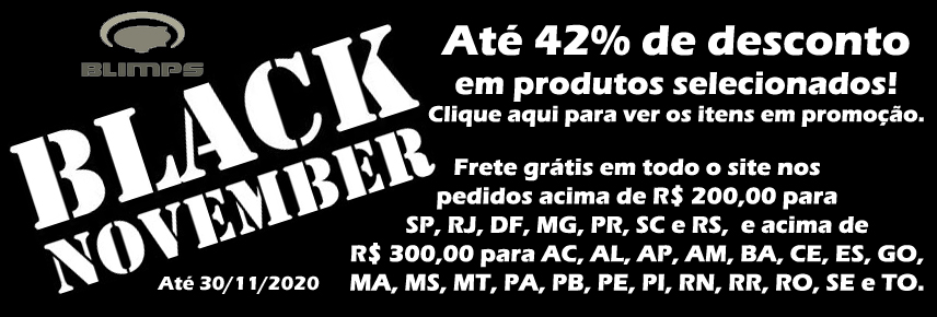 Aproveite a Black November BLIMPS!