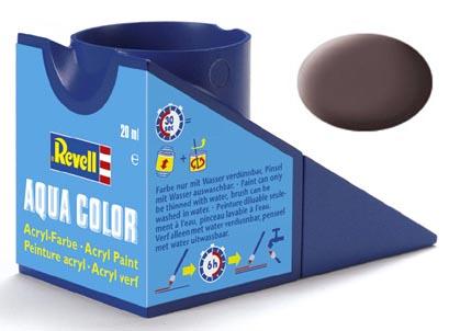 Tinta Acrílica Revell Aqua Color Marrom Couro - Revell 36184  - BLIMPS COMÉRCIO ELETRÔNICO