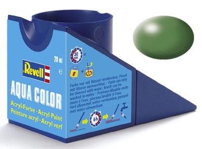 Tinta Acrílica Revell Aqua Color Verde Seda - Revell 36360  - BLIMPS COMÉRCIO ELETRÔNICO