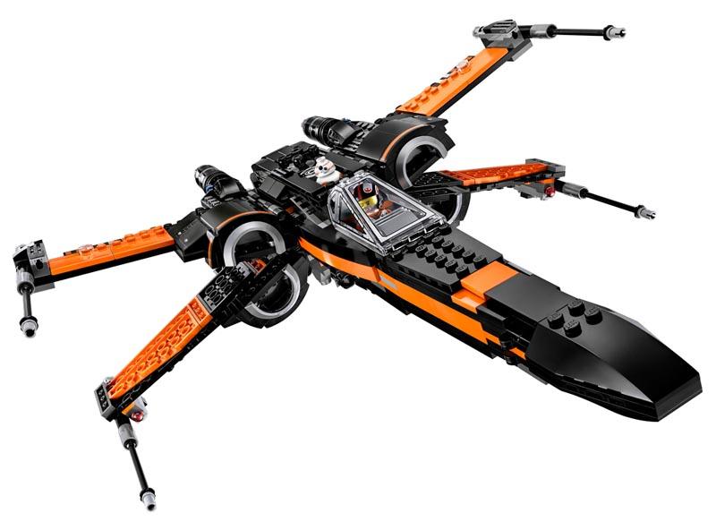Lego Star Wars -  X-Wing Fighter do Poe - 75102  - BLIMPS COMÉRCIO ELETRÔNICO