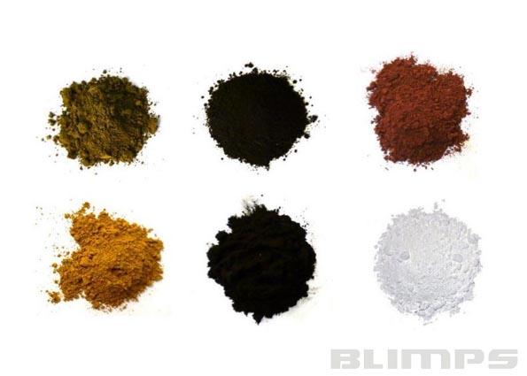 Jogo de 6 Pigmentos para Ambientação e Detalhamento - Revell 39066  - BLIMPS COMÉRCIO ELETRÔNICO